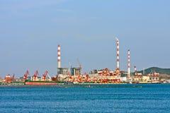 industriell port s för porslin Arkivbilder