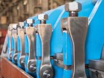 Industriell press Arkivfoton
