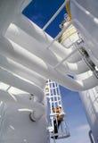 industriell raffinaderiarbetare royaltyfria bilder