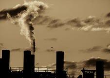 industriell rotation Arkivbilder