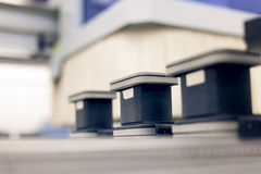 Industriell routermaskin royaltyfria foton