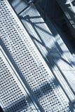industriell scaffold för bakgrund Arkivbilder