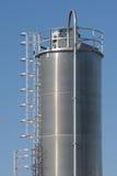 industriell silo Fotografering för Bildbyråer