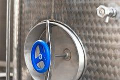 Industriell silos.detail Fotografering för Bildbyråer