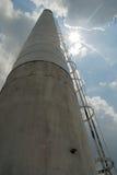 industriell smokestack Royaltyfria Bilder