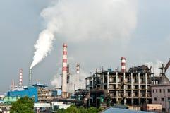Industriell stålförorening Fotografering för Bildbyråer