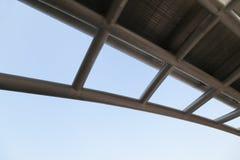 Industriell stålstruktur Arkivfoton