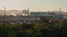 Industriell stad Royaltyfria Bilder