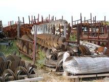 industriell steelyard royaltyfria foton