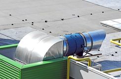 industriell systemventilation Royaltyfri Fotografi