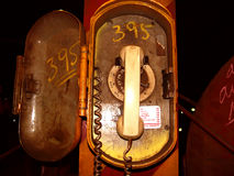 industriell telefon royaltyfri bild