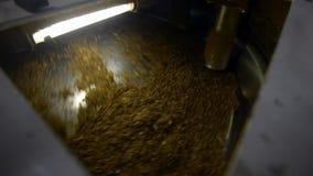 Industriell tobakblandare lager videofilmer