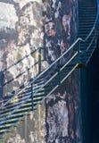 industriell trappabehållare Arkivfoton