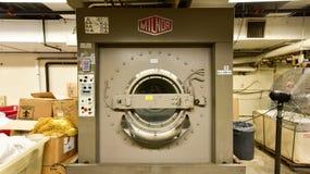 Industriell tvagningmaskin Arkivbild