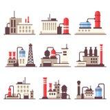 Industriell upps stock illustrationer
