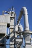 industriell växt för fabrik arkivfoto