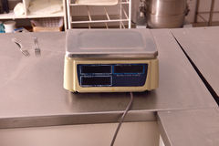 Industriell våg för Closeup i köket av en restaurang Royaltyfria Foton