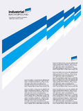 industriell vektor för abstrakt bakgrund Arkivbilder