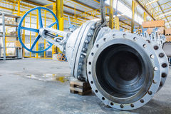 industriell ventil Arkivbilder
