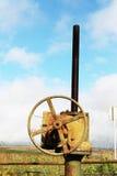 industriell ventil Arkivfoto