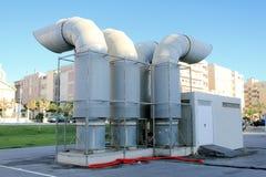 Industriell ventilation Royaltyfri Bild