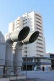 Industriell ventilation Royaltyfria Bilder