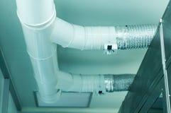 Industriell ventilation Arkivfoto