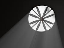 industriell ventilator vektor illustrationer