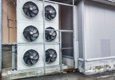 industriell ventilator Arkivfoto