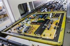 Industriell von elektronischem Lizenzfreie Stockfotos