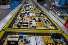 Industriell von elektronischem Stockfoto