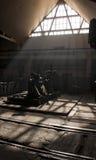 industriell wearhouse Fotografering för Bildbyråer