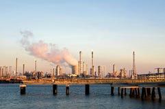 industriell zon Royaltyfria Bilder