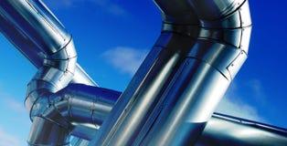 industriell zon Royaltyfria Foton