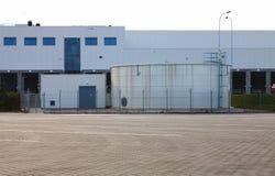 Industriell zon, lager royaltyfri fotografi