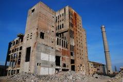 industriella övergivna byggnader Royaltyfri Fotografi