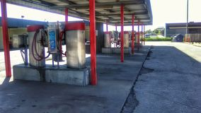 Industriella bilvakuum på biltvätt royaltyfri foto
