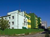 industriella byggnader Arkivfoto