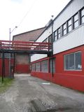 industriella byggnader Royaltyfri Bild