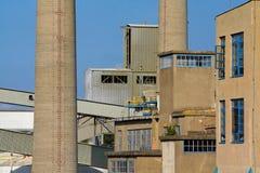 industriella byggnader Arkivbilder
