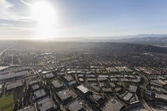 Industriella Camarillo parkerar Ventura County California Aerial Arkivfoto