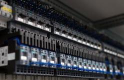 Industriella contactors Arkivfoton