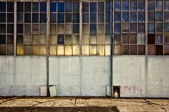 Industriella dörrar Royaltyfri Bild