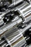 industriella delar Arkivfoto
