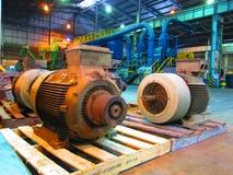 Industriella elektriska motorer Arkivfoton