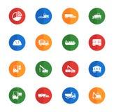 Industriella enkelt symboler Arkivfoton