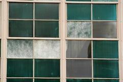 industriella fönster Royaltyfri Bild