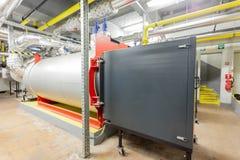 Industriella gasgasbrännare Royaltyfri Fotografi