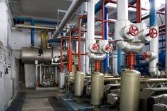industriella generatorer arkivbilder