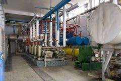 industriella generatorer arkivbild
